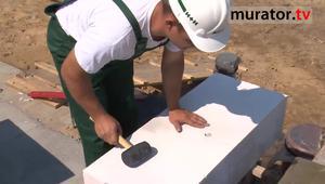 Ściany z betonu komórkowego: Murowanie pierwszej warstwy