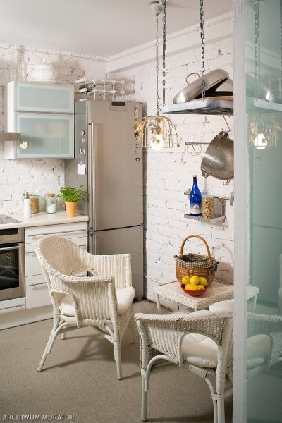 Wykończenie ścian w kuchni
