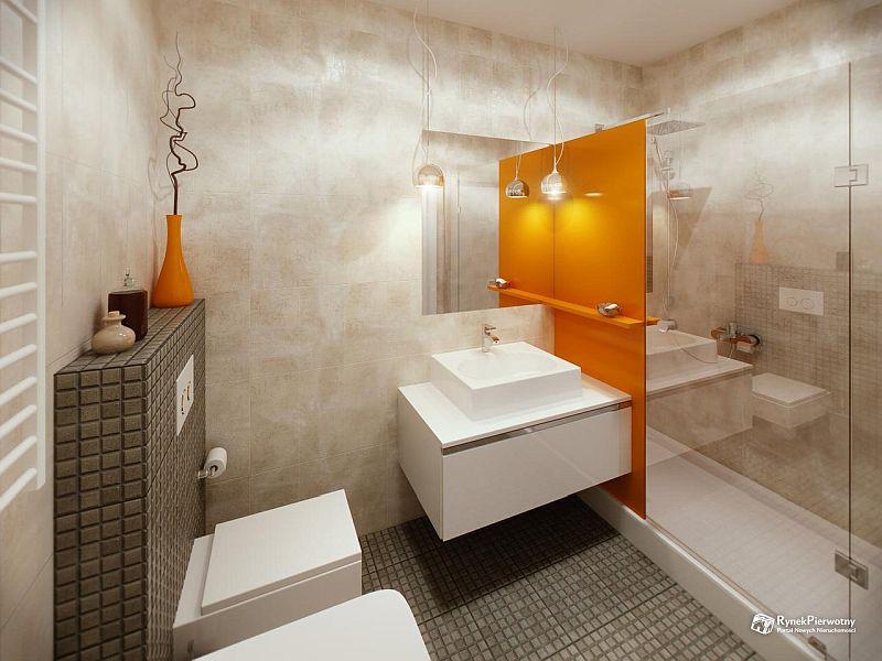 Funkcjonalna łazienka w inwestycji Olimpia Port