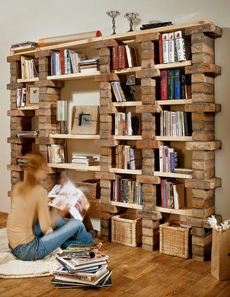 Regał na książki - oryginalne projekty