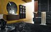 Nowoczesna łazienka w czerni