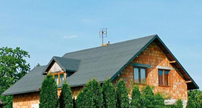 Wstepne krycie dachu