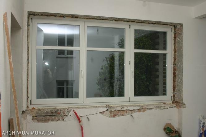 Wymiana starego okna na nowe
