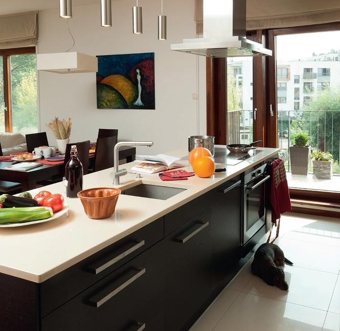 Aranżacja kuchni z wyspą ZDJĘCIA kuchni, porady jak   -> Kuchnia Z Wyspą Ikea
