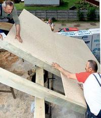 Przygotowanie do krycia dachu