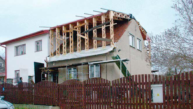 Nowa więźba dachowa