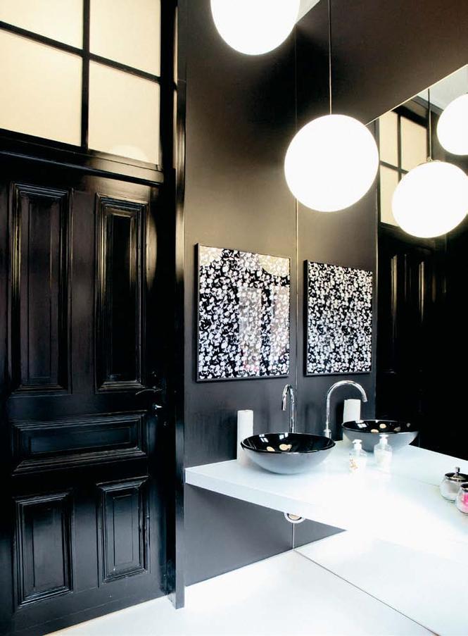 Aranżacja łazienki w czerni