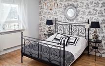 Aranżacja sypialni w stylu glamour. Stylowe dodatki nadadzą wnętrzu charakteru