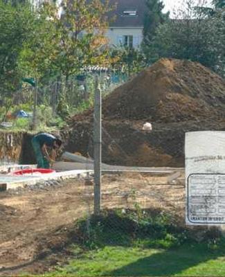 zagospodarowanie placu budowy