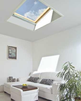 Wykończenie okna dachowego od wewnątrz
