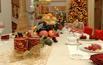 Wigilijny stół w świątecznej oprawie