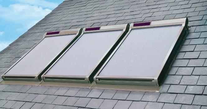 Solarne osłony do okien dachowych