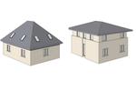 Co taniej wychodzi: budowa piętra czy poddasza?