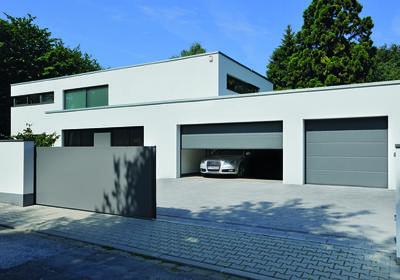 Inteligentny dom. System sterowania bramami, drzwiami i oświetleniem