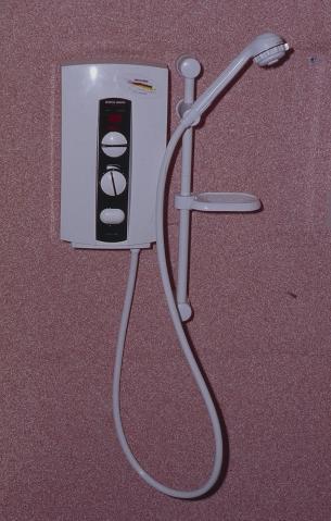 Elektryczny przepływowy podgrzewacz wody