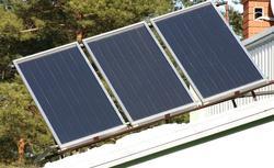 Kocioł gazowy, kominek z płaszczem wodnym i kolektory słoneczne w jednej instalacji