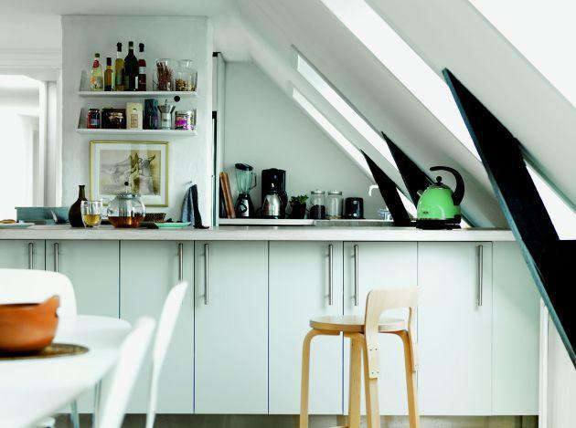 Kuchnia na poddaszu  praktyczne zasady projektowania   -> Kuchnie Na Poddaszu Nowoczesne